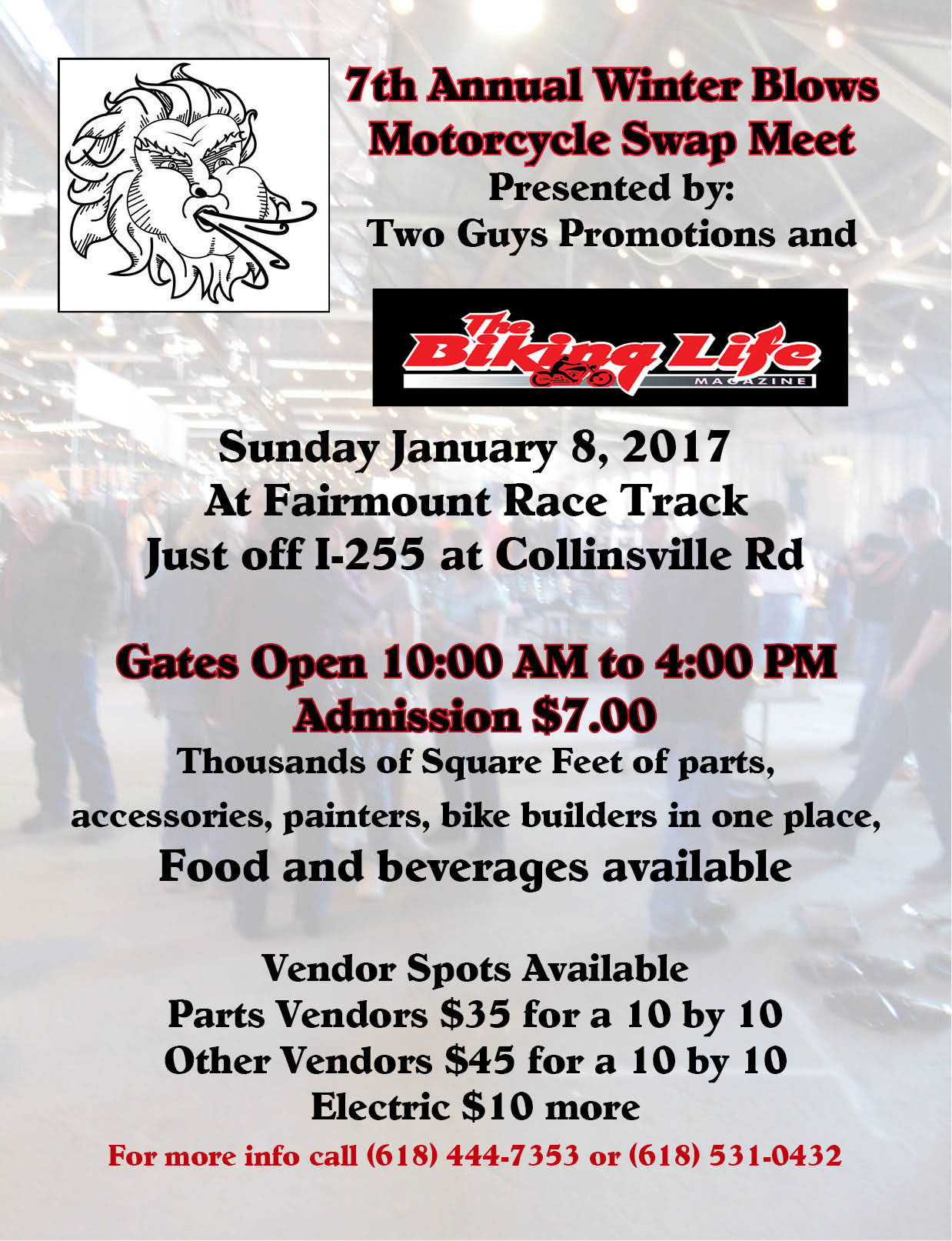 7TH Annual Winter Blows Swap Meet